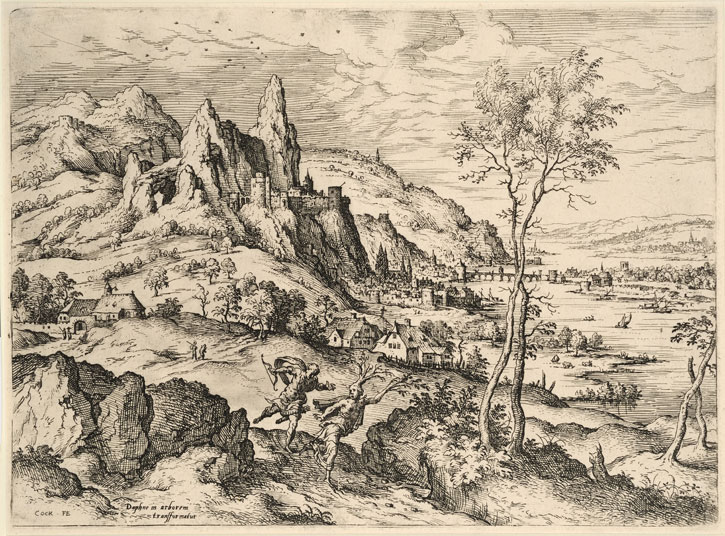 1558, etching on paper by Hieronymous Cock (c.1510–1570)