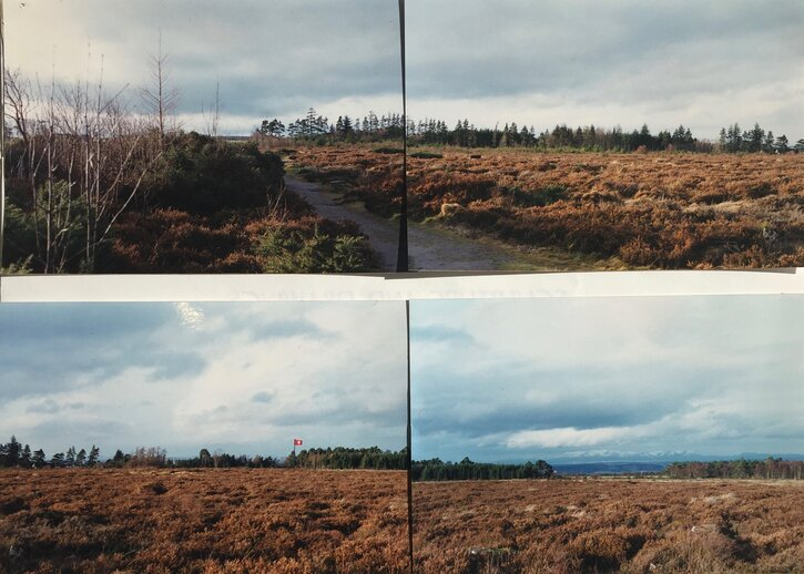 Photographs taken at Culloden in Northern Scotland