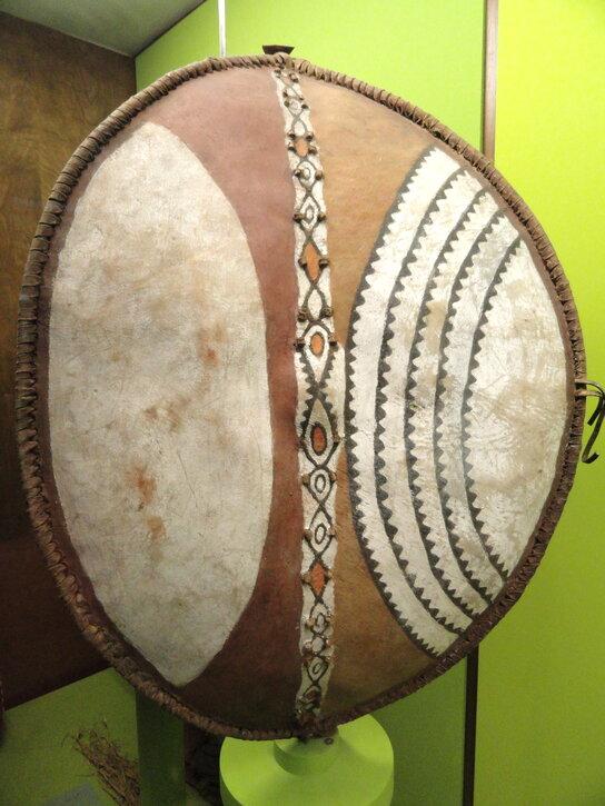 A Maasai shield