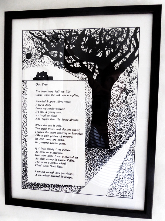 An illustrated poem by Robert Morgan (1921–1994)