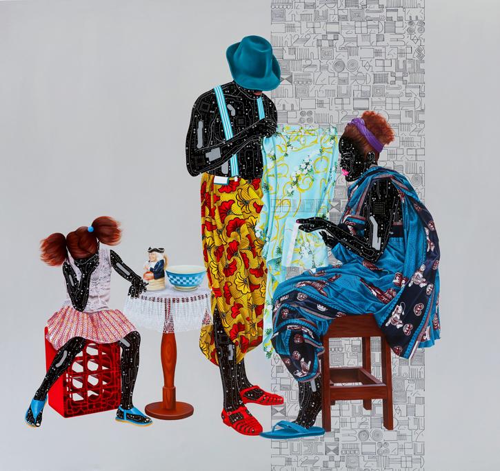 2018, archival giclée print (K3 ink) on 100% cotton 300gsm archival paper by Eddy Kamuanga Ilunga, 37.7 x 39.5 cm unframed, edition of 25 (#13/25). Estimate £600–900