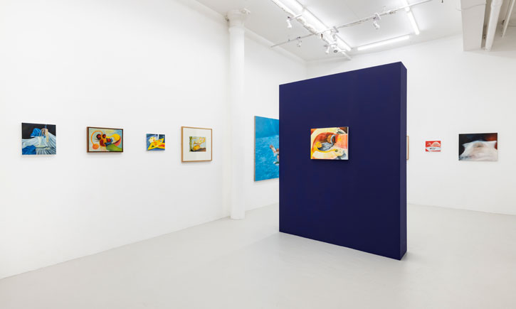 Installation shot including works by Mary Stephenson and Grace Pailthorpe