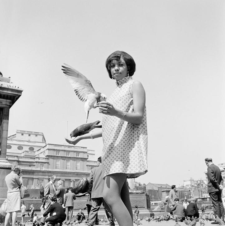 Erlin Ibreck at Trafalgar Square