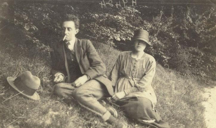 John Nash and Christine Kühlenthal