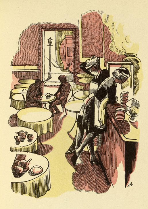 Illustration for Walter de La Mere's short story