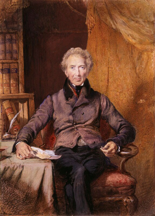 1832, watercolour by George Richmond (1809–1896)