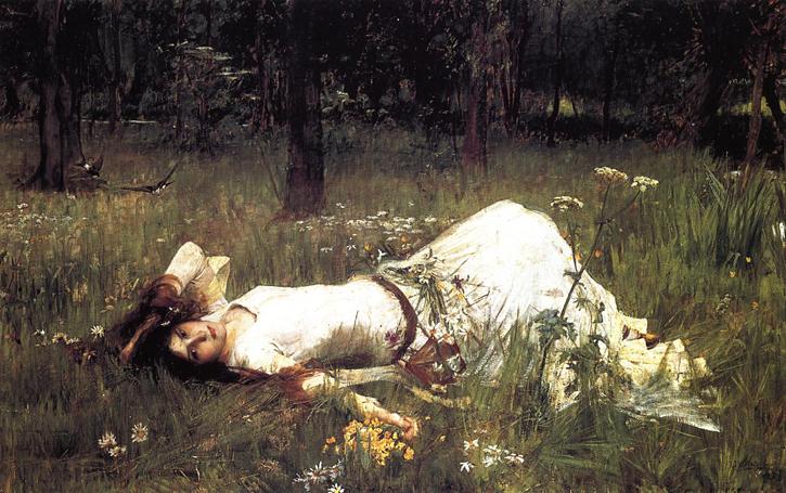 1889, oil on canvas by John William Waterhouse (1849–1917)