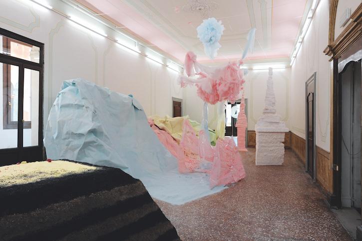 Installation view, Palazzo Pisani, Venice