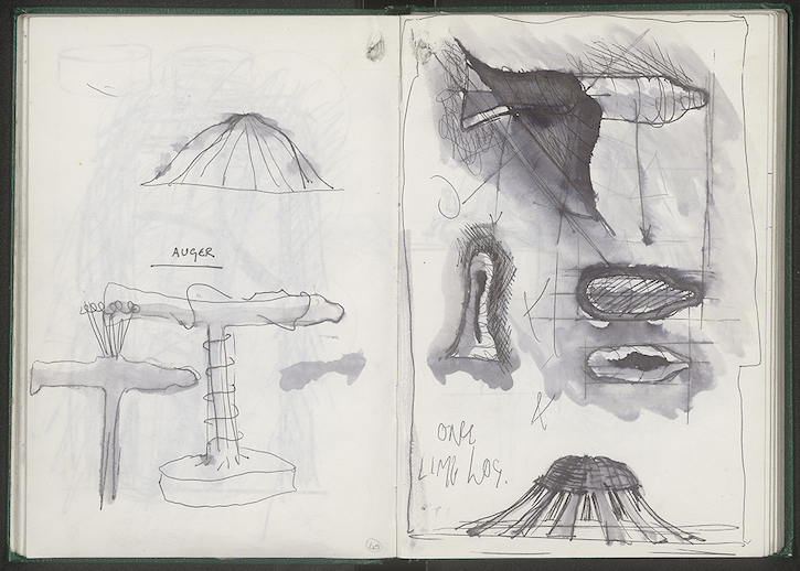 Page from an undated sketchbook