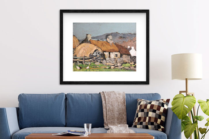 Kyffin Williams' landscapes are very popular prints