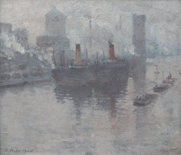 Manchester Ship Canal, 18 mars 1908