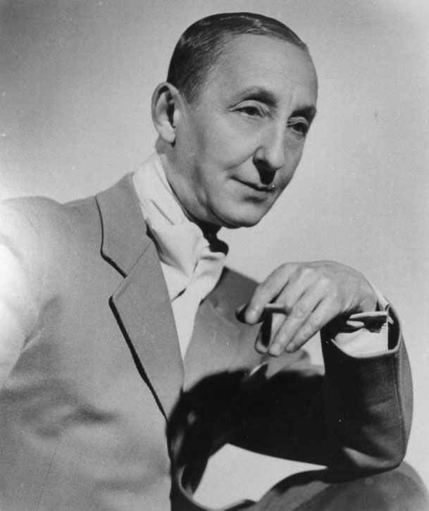 Marlow Moss (with cravat and cigarette)