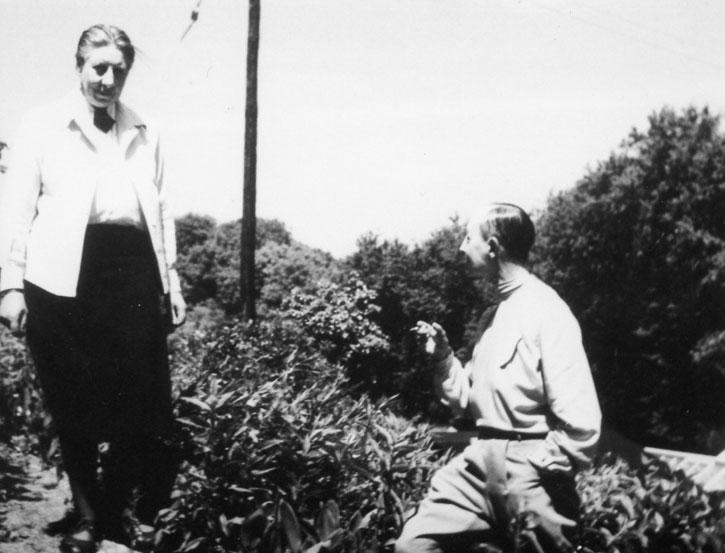 Netty Nijhoff and Marlow Moss in Lamorna
