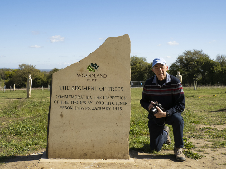 Mike Longhurst at The Regiment of Trees