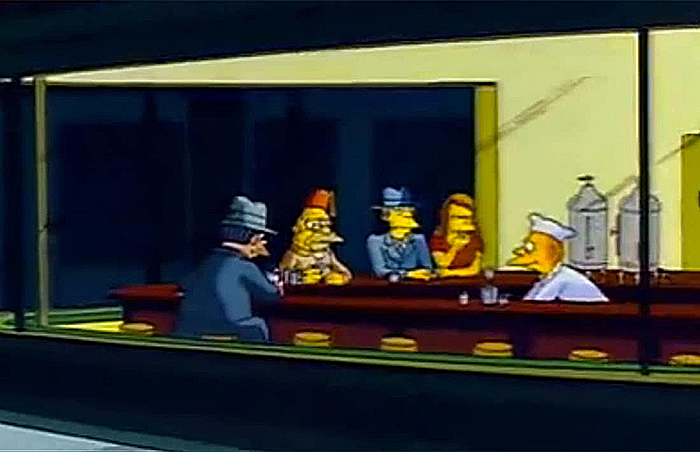 Still from The Simpsons, Season 2, Episode 17 – 'Old Money'