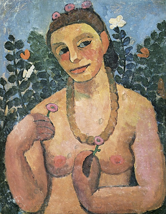 1906, oil on cardboard by Paula Modersohn-Becker (1876–1907)