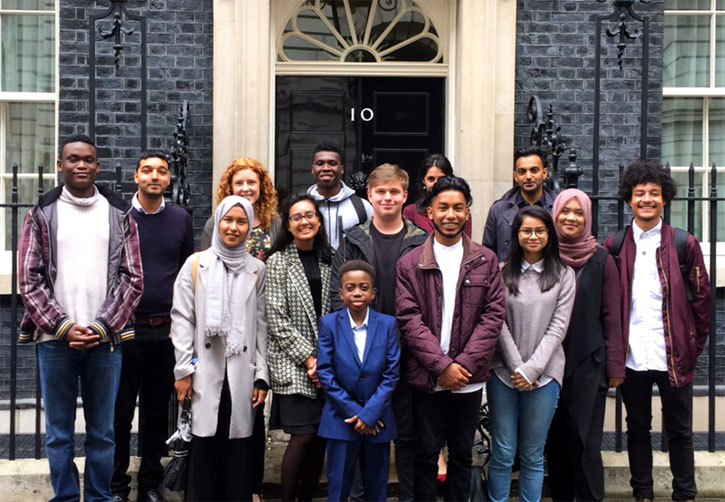 A Renaissance Foundation inspirational and career insight visit to No. 10 Downing Street