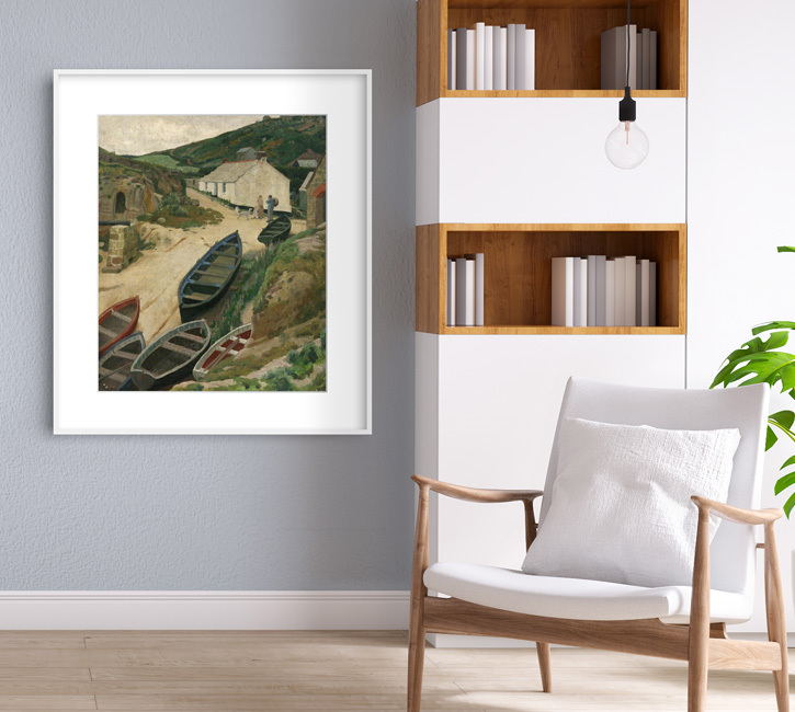 Framed print of 'Porthgwarra'