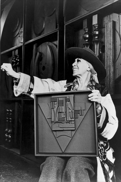 Portrait of Louise Nevelson, 1968