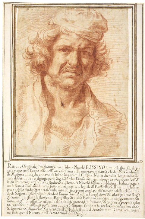c.1630, red chalk by Nicolas Poussin (1594–1665)