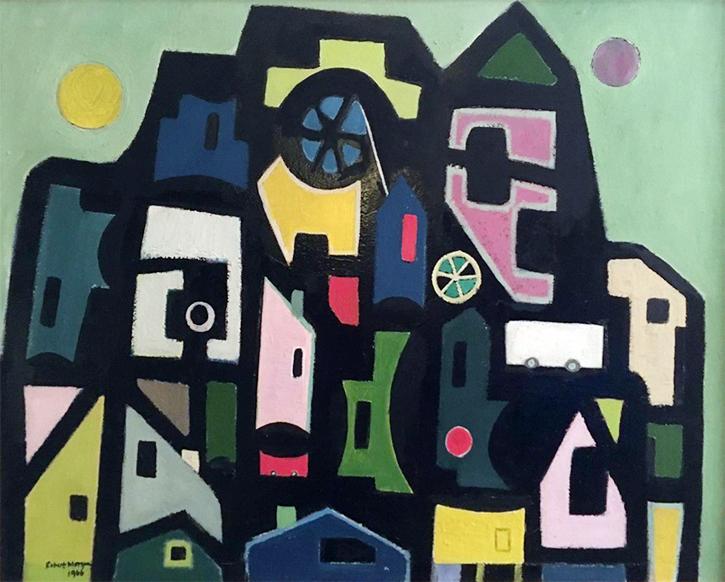Artwork by Robert Morgan (1921–1994)