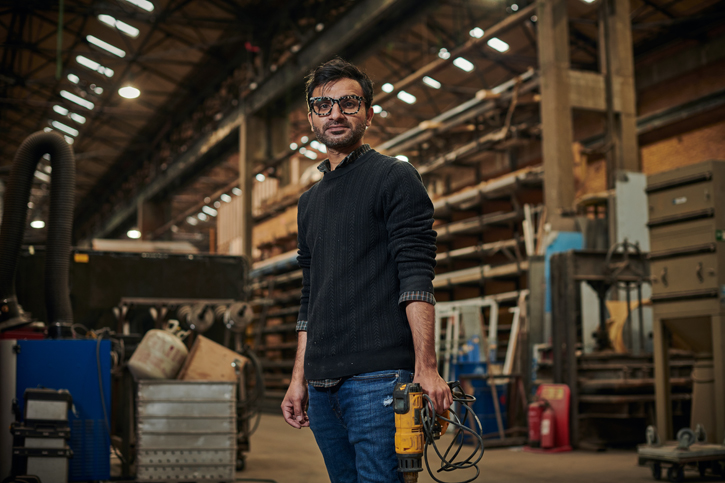 Artist Saad Qureshi