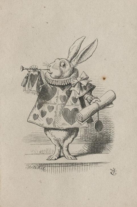 White Rabbit as the Herald