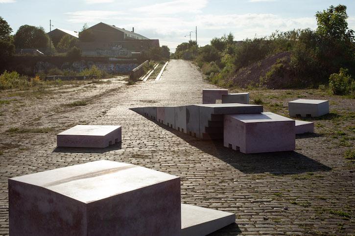2021, cast concrete by Jacqueline Donachie