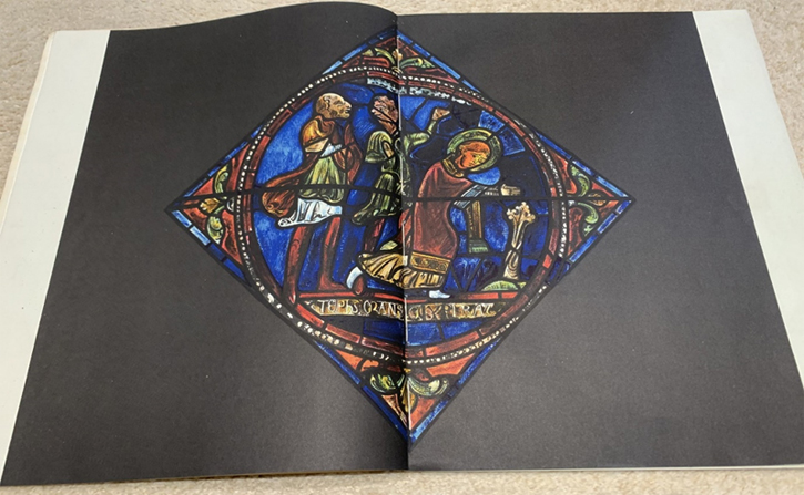 Colour reproduction of John Piper's copy of 'The Stoning of St Stephen' that he made in 1929