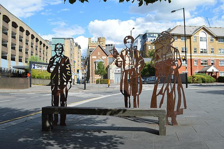Sculptures in Croydon