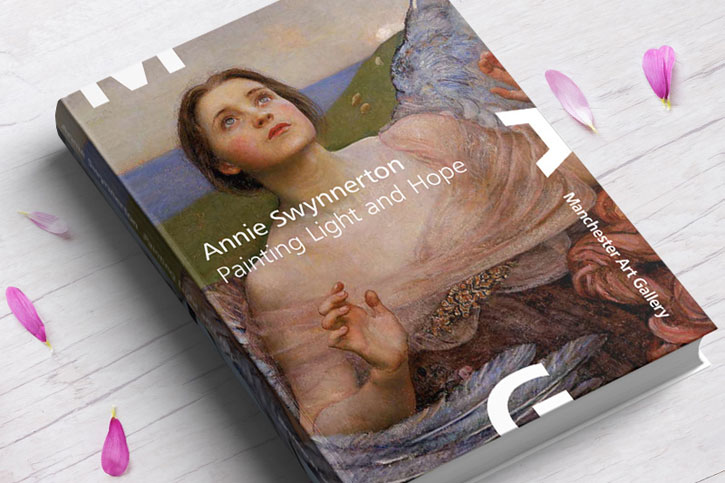 The catalogue from the exhibition 'Annie Swynnerton: Painting Light and Hope'