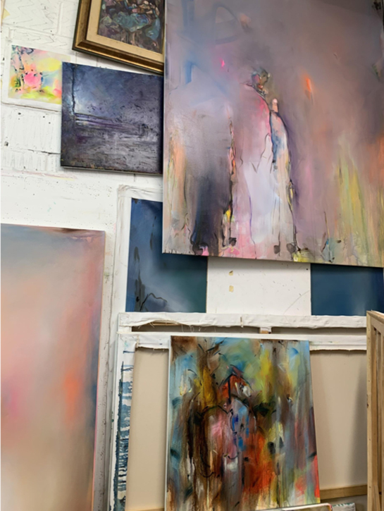 Toney Daley's studio