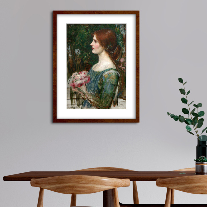 Framed print of 'The Bouquet'