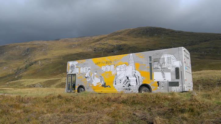Travelling Gallery near Ullapool