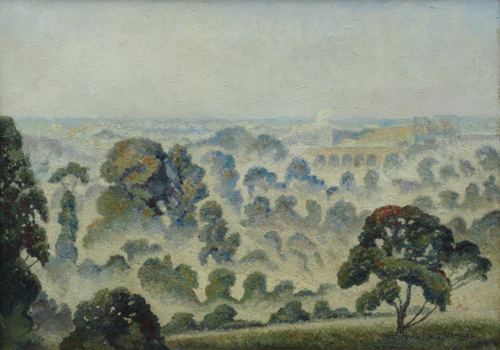 Essex Landscape, Early Morning