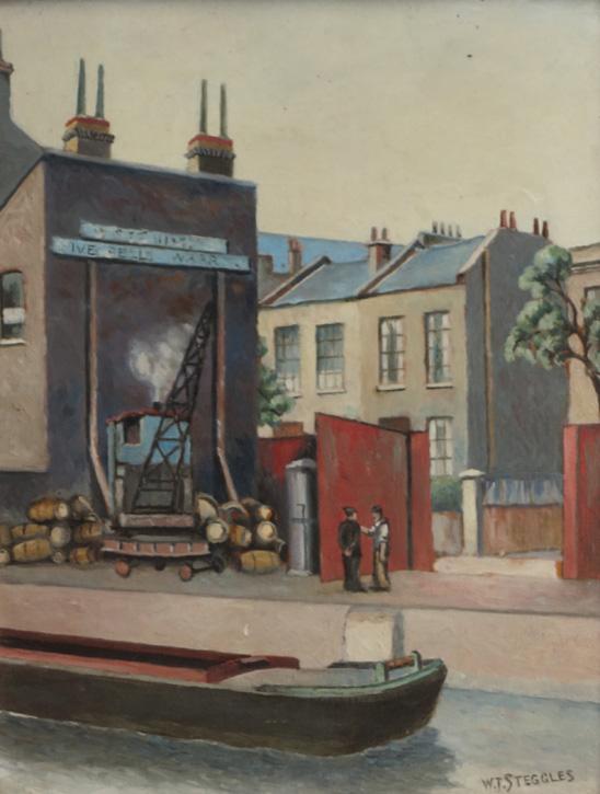 Five Bells Wharf