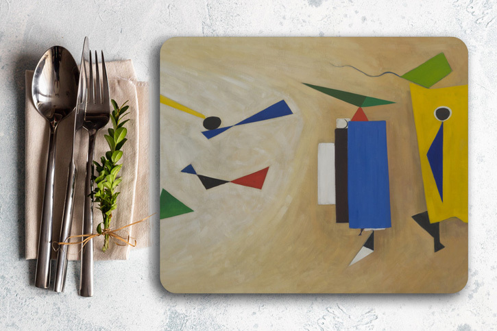 Placemat of 'Summer Painting No. 2'