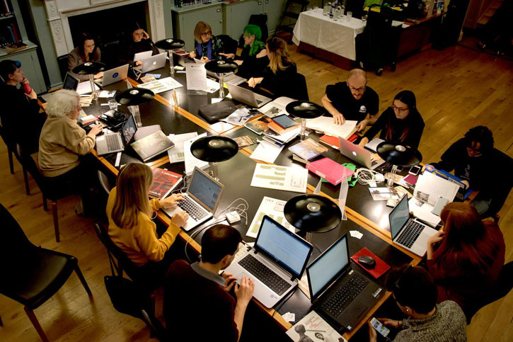 The London Wikipedia edit-a-thon at the Paul Mellon Centre Library