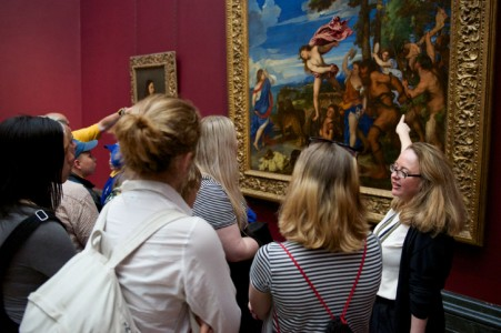 Looking at Titian's 'Bacchus and Ariadne'