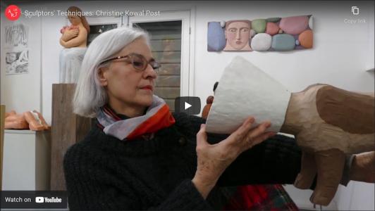 Sculptors' techniques Christine Kowal Post
