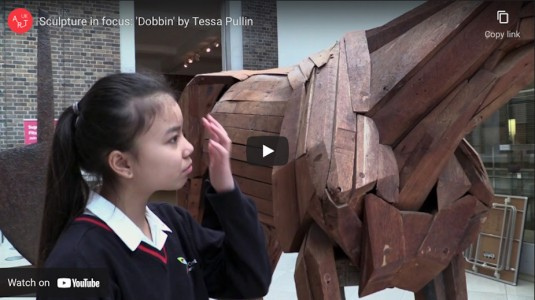 Sculpture in focus: 'Dobbin' by Tessa Pullan