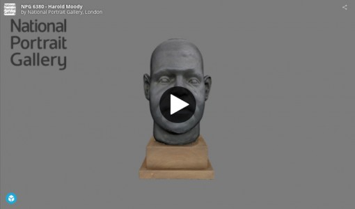 3D object Harold Moody