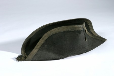 Undress hat worn by Nelson at the Battle of the Nile