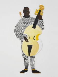 The Viola De Gamba Player (from the series 'Naming the Money')
