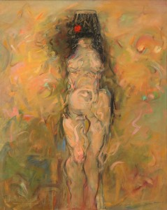 Woman Artist, Nude, Standing