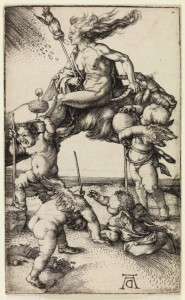 c.1500, engraving by Albrecht Dürer (1471–1528)