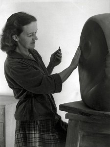 Barbara Hepworth in 1949