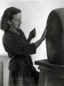 Barbara Hepworth in 1949