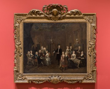 (in situ), 1730, oil on canvas by William Hogarth (1697–1764)