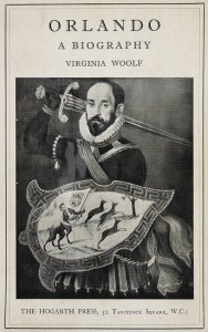 Cover of the original copy of Virginia Woolf's 'Orlando: A Biography'